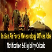 Indian Air Force Recruitment in Meteorology Branch